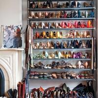 jenna lyons shoe closet