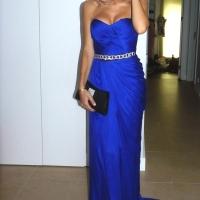 cobalt blue vakko couture